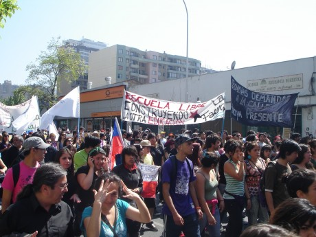 CHILE STUDENTS' PROTESTS